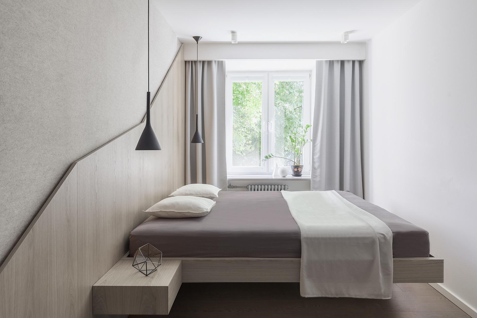 Маленькая спальня: 35 идей и решений (галерея 1, фото 2)