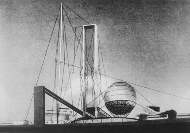 В МУАРе открывается выставка русского архитектурного авангарда фото [2]