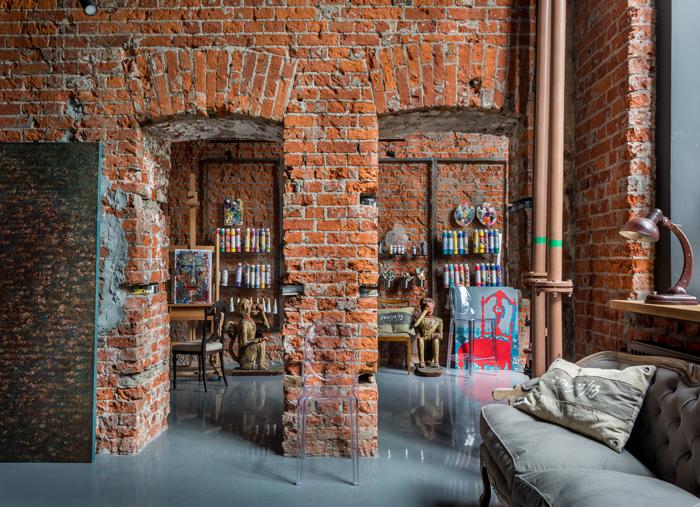 Мастерская в здании старого вино-водочного цеха (фото 11)
