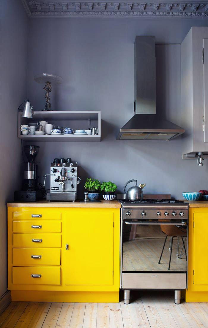Желтый цвет в интерьере: советы и приемы (фото 35)