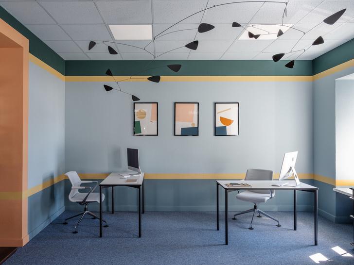 Новый офис 40 м² для бюро Натальи Масловой (фото 0)