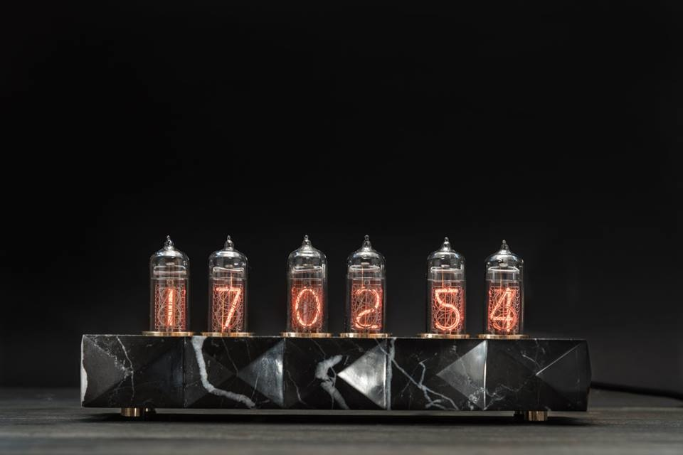 Ламповые часы ручной работы (галерея 2, фото 0)