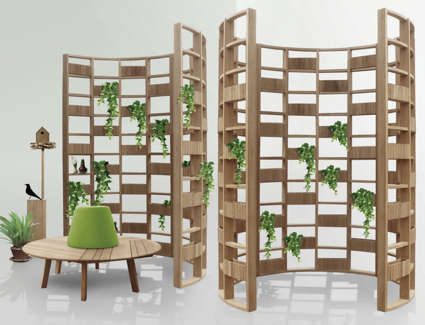 Кашпо и мебель для домашних растений (фото 3)