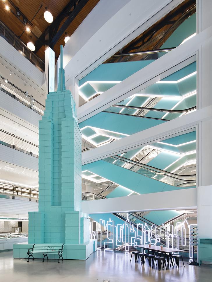 Новый временный флагман Tiffany&Co в Нью-Йорке (фото 2)
