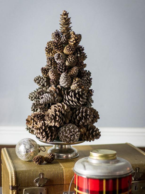 Рождественский декор из шишек: 20 идей и примеров (галерея 0, фото 1)