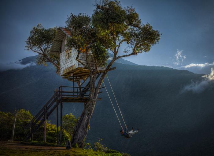 Качели «Конец света», Эквадор