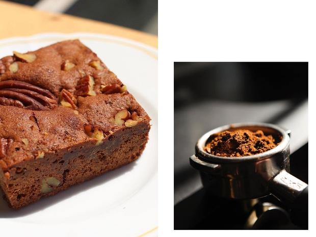 Сладкое утро: шоколадно-ореховый брауни по рецепту Café Kitsuné (фото 1)