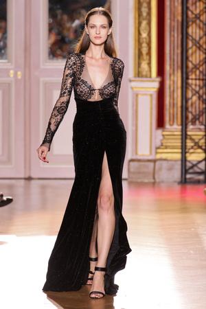 Показ Zuhair Murad коллекции сезона Осень-зима 2012-2013 года haute couture - www.elle.ru - Подиум - фото 404985