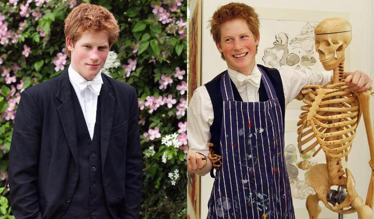 Принц Гарри в Eton College
