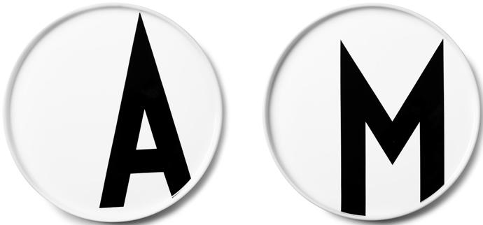 Тарелки, Design Letters