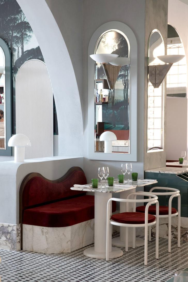 Ресторан Adriatica по дизайну Доротеи Мейлихзон в Венеции (фото 3)