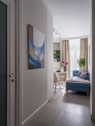 Квартира 39 м² с двумя балконами для молодой семьи (фото 10.2)
