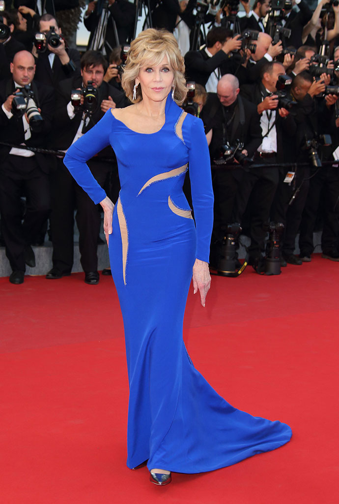 Джейн Фонда в Atelier Versace