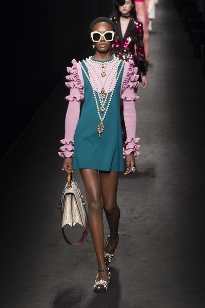 Самые красивые образы Недели моды в Милане   галерея [1] фото [18]