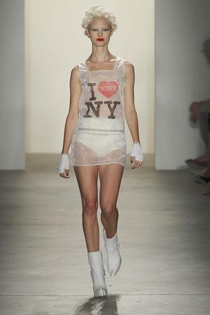 Показы мод Jeremy Scott Весна-лето 2011 | Подиум на ELLE - Подиум - фото 2628