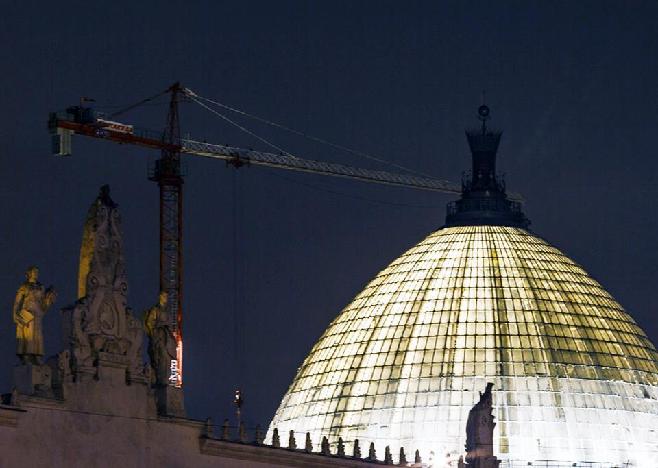 Продолжается реставрация павильона «Космос» на ВДНХ | галерея [1] фото [3]