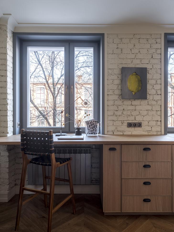 Московская квартира 60 м² с элементами лофта (фото 8)