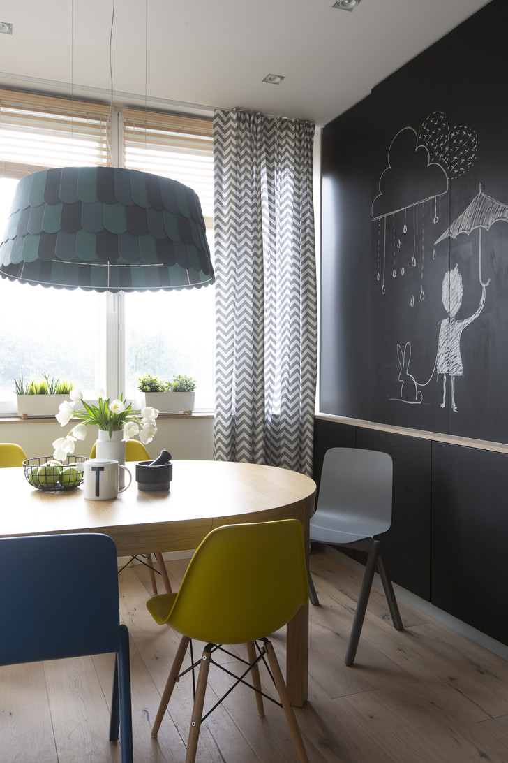 Квартира 150 м²: нескучный проект в скандинавском стиле (фото 8)