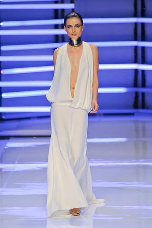 Показ Alexander Vauthier коллекции сезона Весна-лето 2012 года Haute couture - www.elle.ru - Подиум - фото 331895
