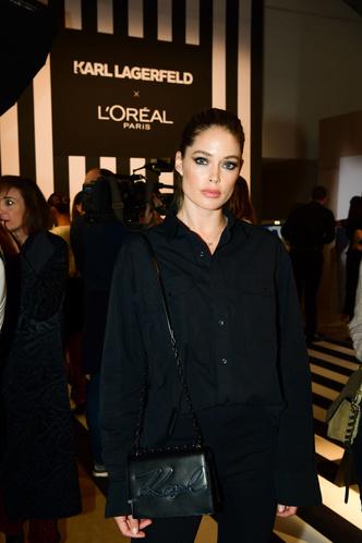 Как носить тотал-блэк? Как Даутцен Крез на вечеринке L'Oréal Paris (фото 1.1)