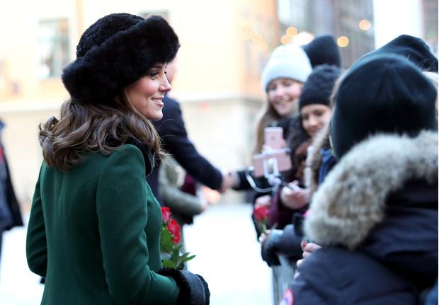 Кейт Миддлтон и принц Уильям прибыли с официальным визитом в Стокгольм (фото 12)