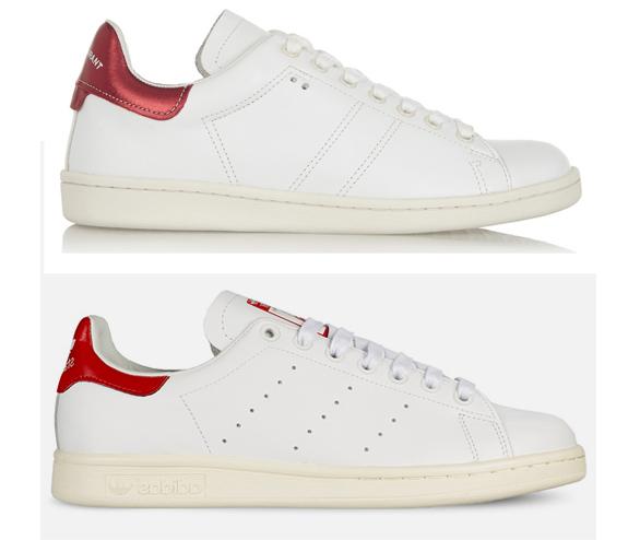 Белые кроссовки: фото