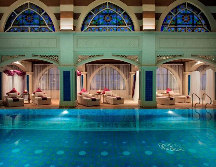 Спа Talise Ottoman Spa в Jumeirah Zabeel Saray