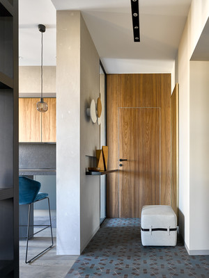 Брутальная квартира 78 м² с элементами минимализма (фото 1)