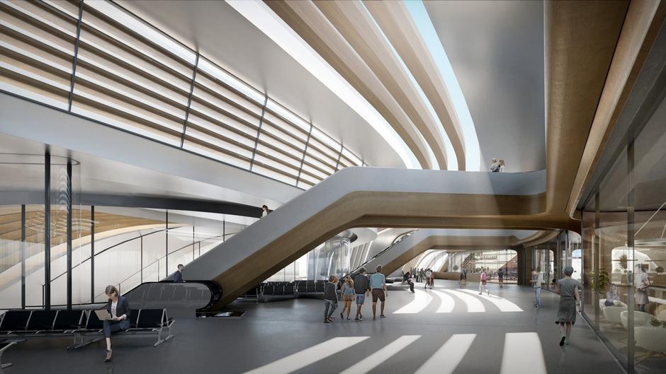 Zaha Hadid Architects построит в Таллинне мост-вокзал (фото 6)