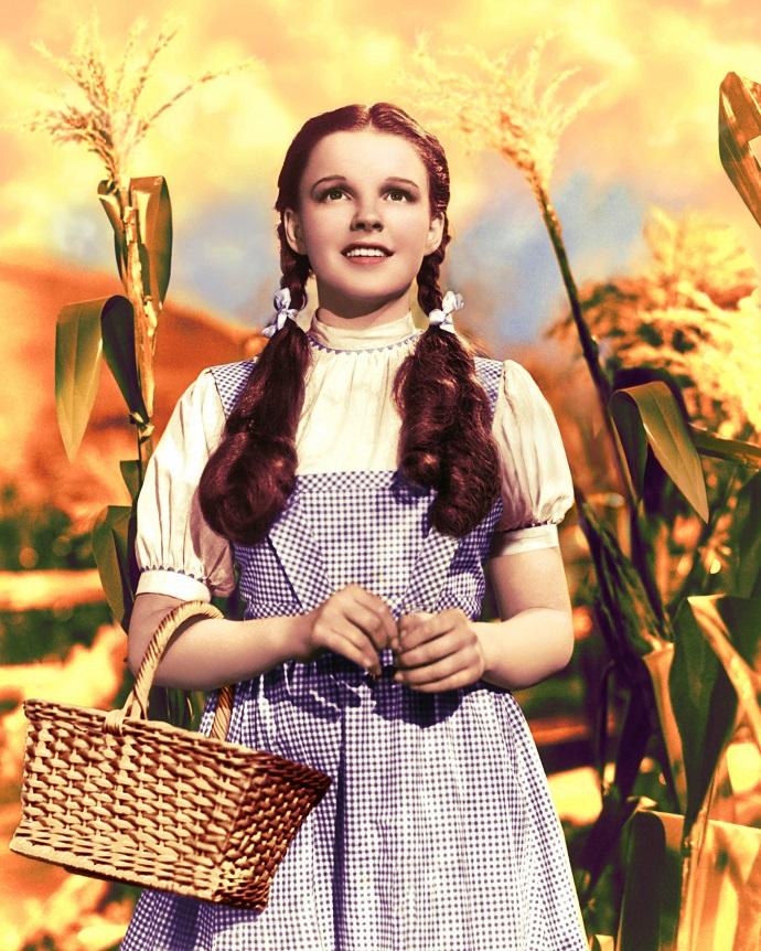 Клетчатое платье Дороти