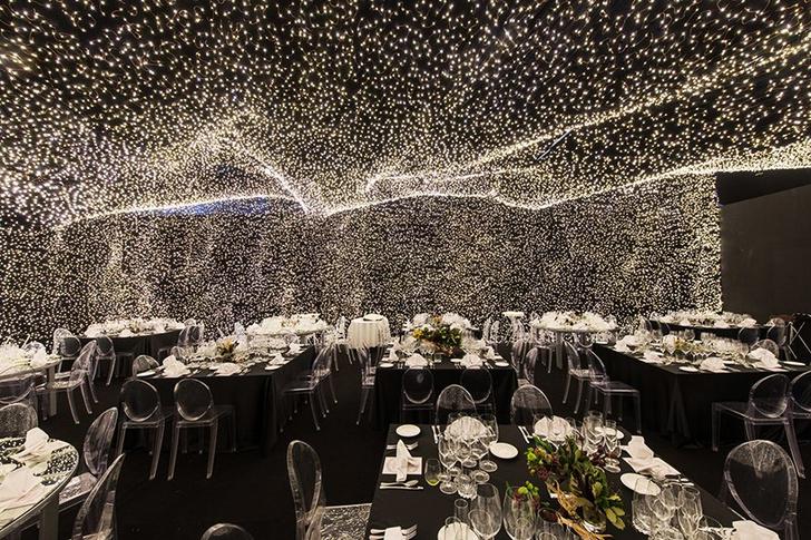 250 000 led-огней украшают ресторан Interstellar в Мехико (фото 4)