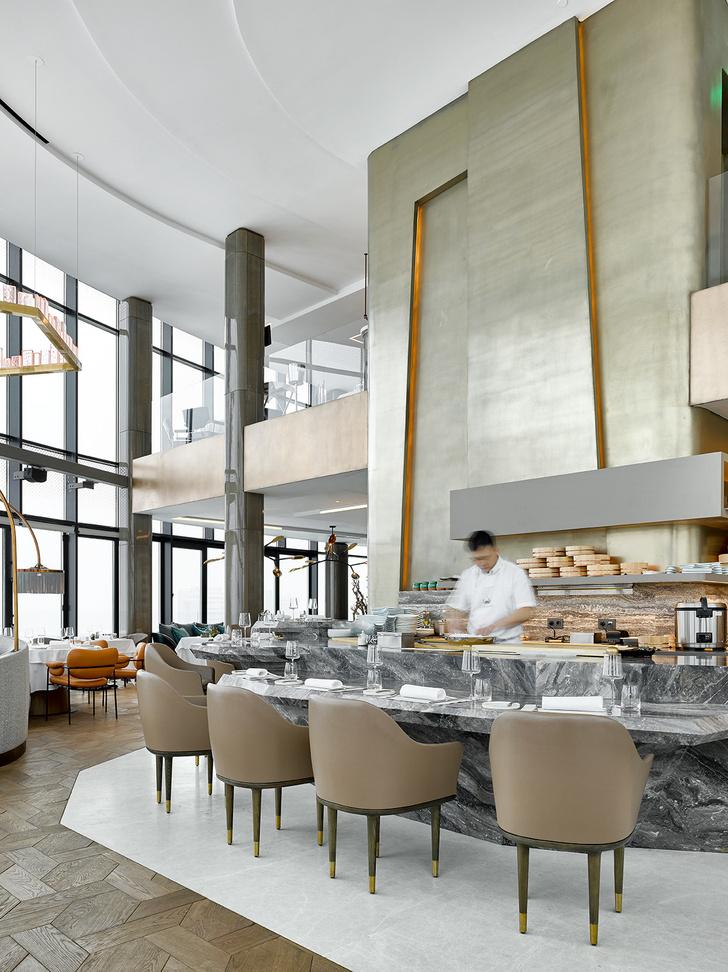Новый ресторан «Сахалин» по дизайну Ирины Глик (фото 18)