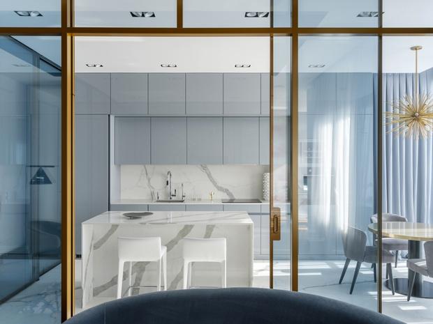 Легкое дыхание: квартира 90 м² в Москве (фото 3)
