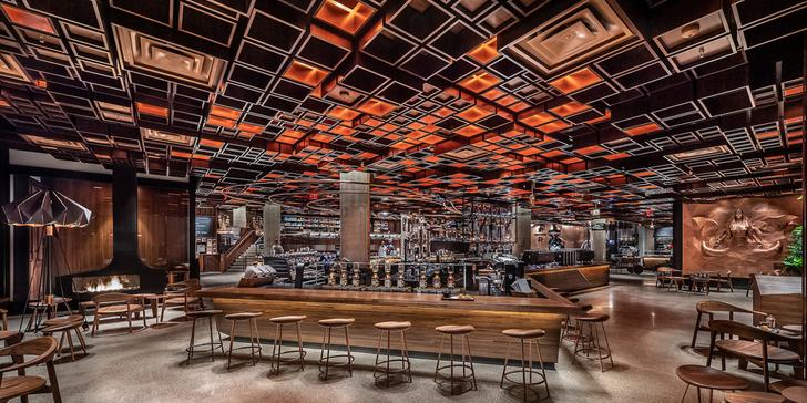 Starbucks в Нью-Йорке: кафе и обжарочный цех (фото 3)