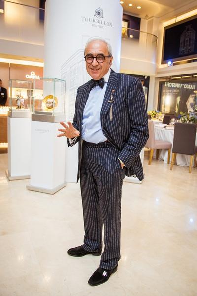 Знаменитости на открытии бутика Tourbillon | галерея [1] фото [9]