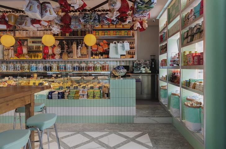 Ресторан Lina Stores в историческом районе Кингс-Кросс (фото 9)
