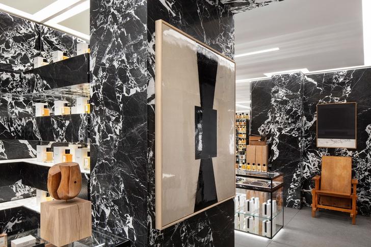 Парфюмерный бутик Celine в Париже (фото 3)