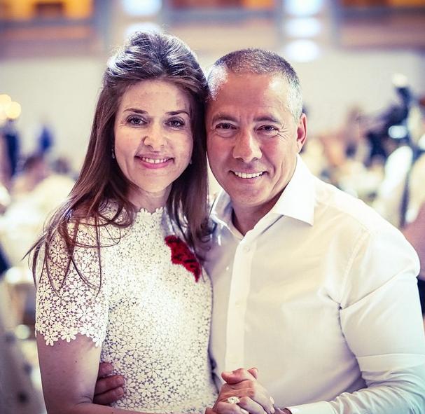 Аркадий Новиков с супругой Надеждой