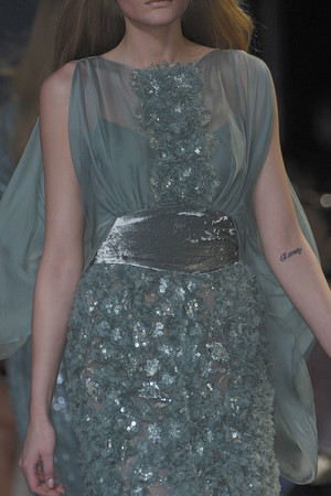Показ Elie Saab коллекции сезона Осень-зима 2010-2011 года haute couture - www.elle.ru - Подиум - фото 168142