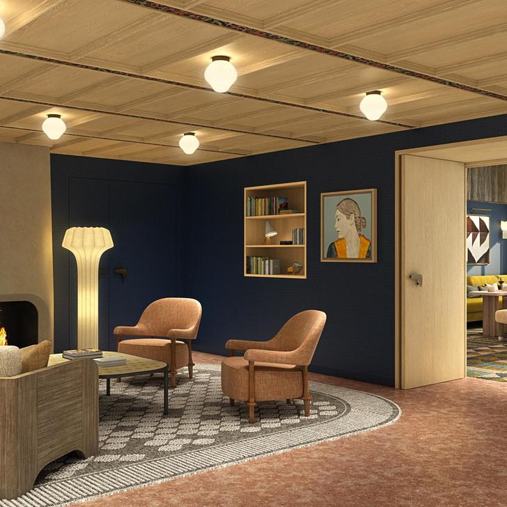 Le Coucou: дизайн-отель по проекту Пьера Йовановича в Мерибеле (фото 4)