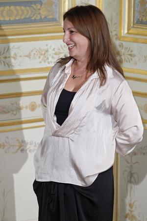 Показ Anne Valerie Hash коллекции сезона Осень-зима 2011-2012 года Haute couture - www.elle.ru - Подиум - фото 276949