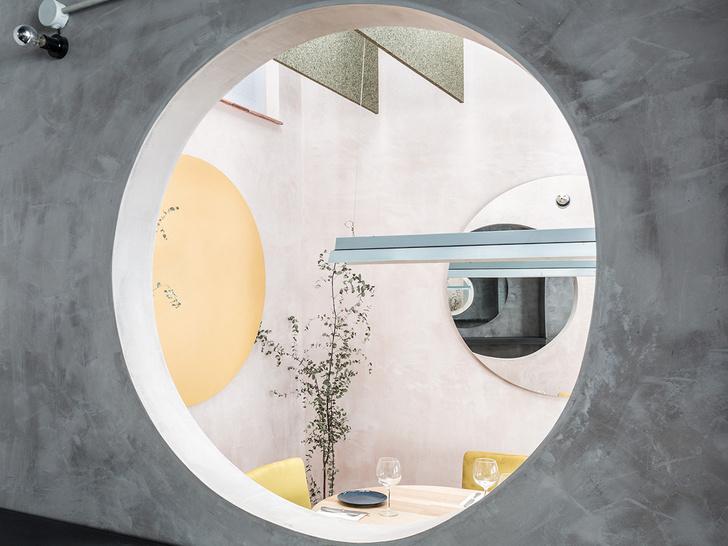 Нежный бетон: ресторан в Испании (фото 6)