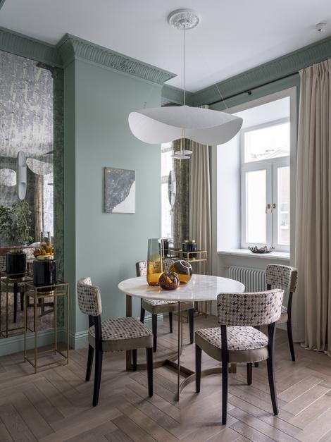 Дом с историей: квартира 107 м² на Сретенке (фото 6)