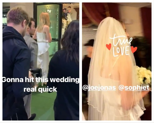 Софи Тернер и Джо Джонас поженились (фото 1)