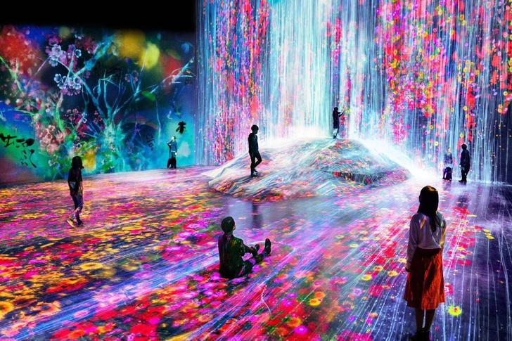 В Токио открылся первый в мире музей цифрового искусства (фото 0)
