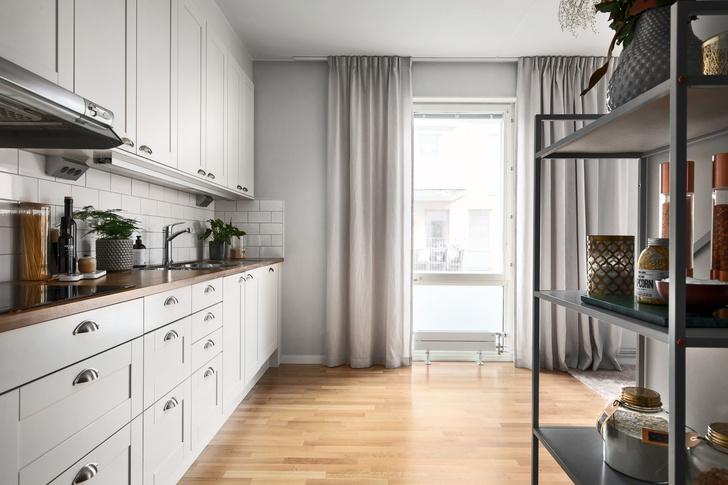 Светлая квартира 62 м² в Стокгольме (фото 5)