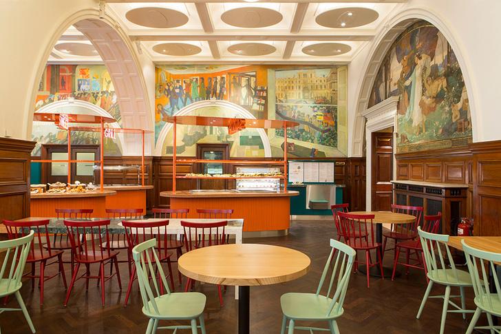 Живописное кафе при лондонской Королевской академии художеств (фото 0)