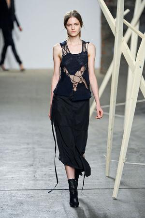 Показы мод Tess Giberson Осень-зима 2012-2013 | Подиум на ELLE - Подиум - фото 1729