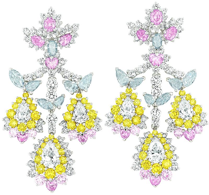 Серьги Cher Dior, Dior Fine Jewellery, бутики Dior.