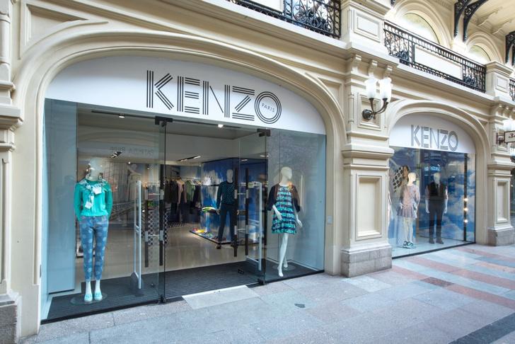 Новый адрес Kenzo в ГУМе